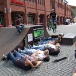 6.) BMX Übersprung mit Rampe